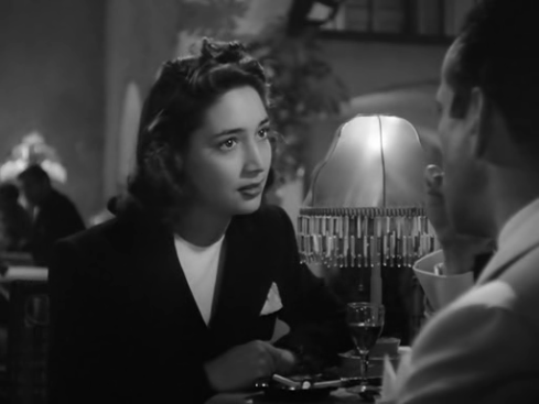 Joy Page in Casablanca