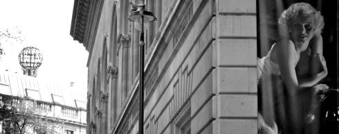 Jean Harlow in London