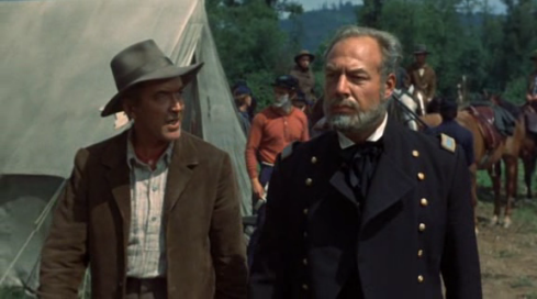 George Kennedy alongside James Stewart in Shenandoah (1965)