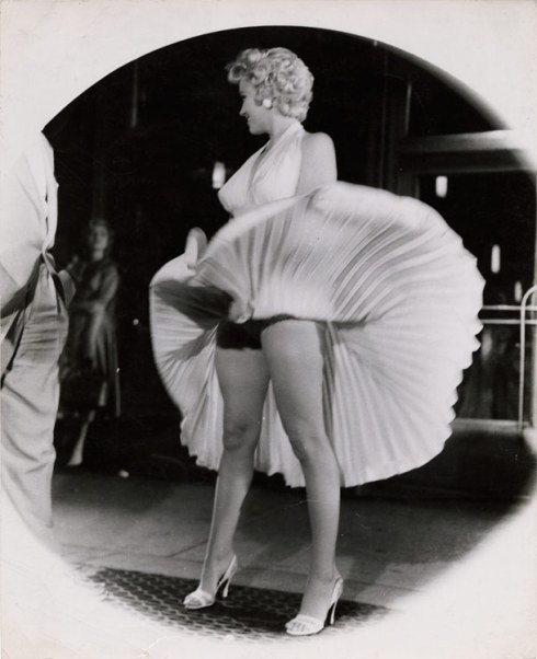 Marilyn Monroe Seven Year Itch Weegee Arthur Fellig